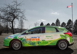 Electric Car Wrap