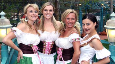 Bavarian theme for corporate gala or party