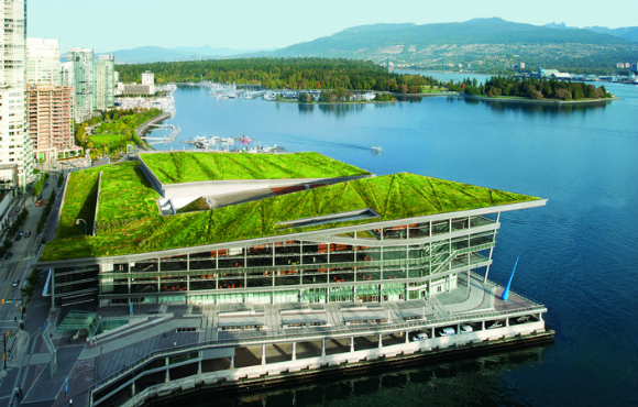 Vancouver Convention Centre The World S First Double Leed