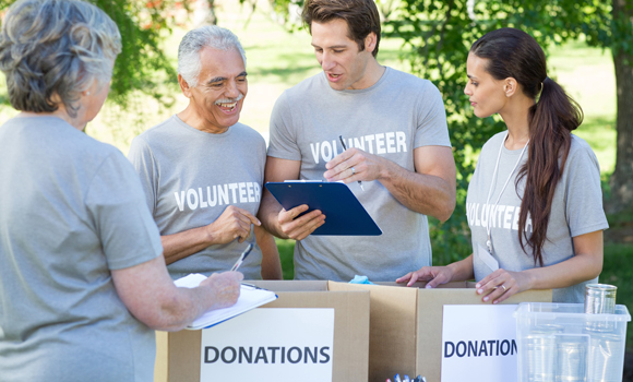 Community volunteerism: how to engage your event's local community by providing a hands-on charity component on-site