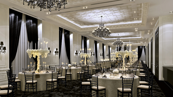 Trump international hotel tower toronto introduces new meeting spaces a - Deco baroque moderne ...